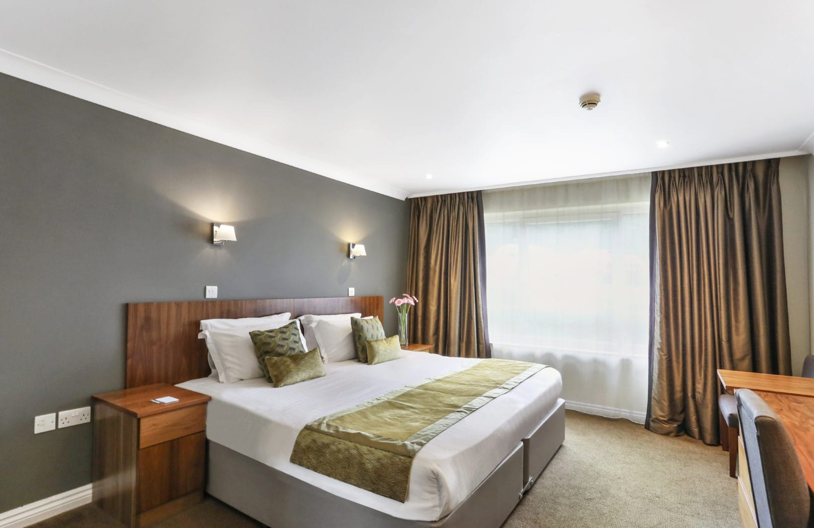 Hotel club bedroom