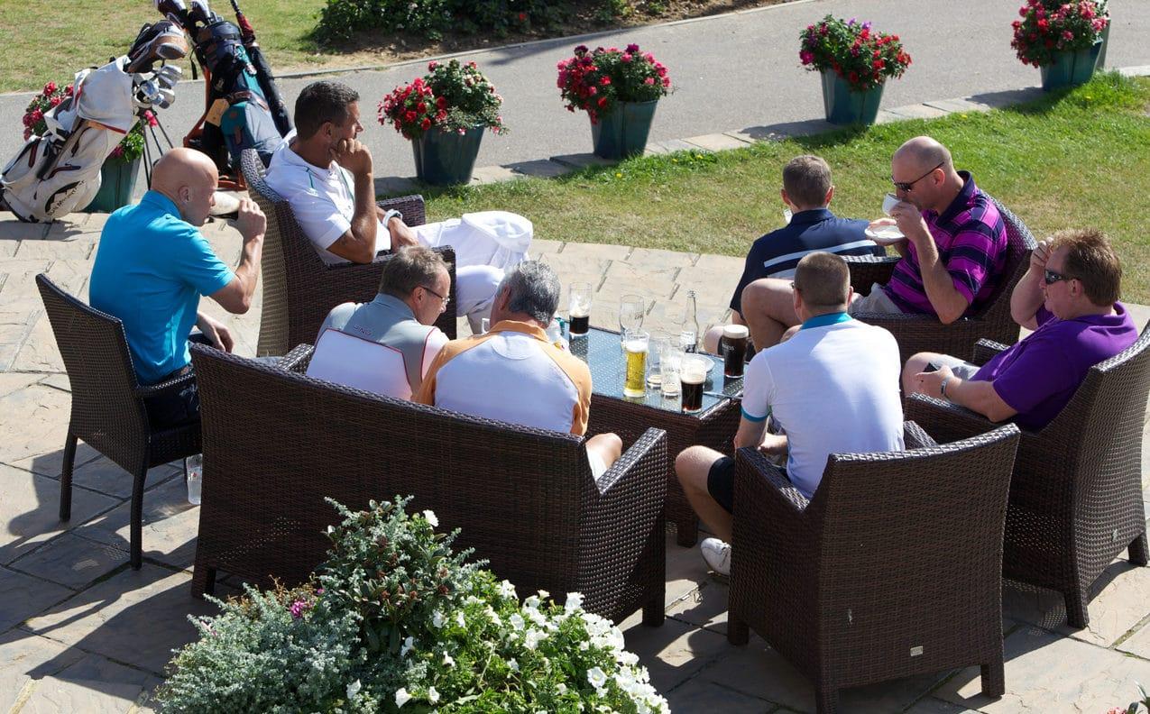 Golf Break on the terrace