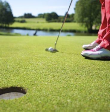 Golf - ball putting