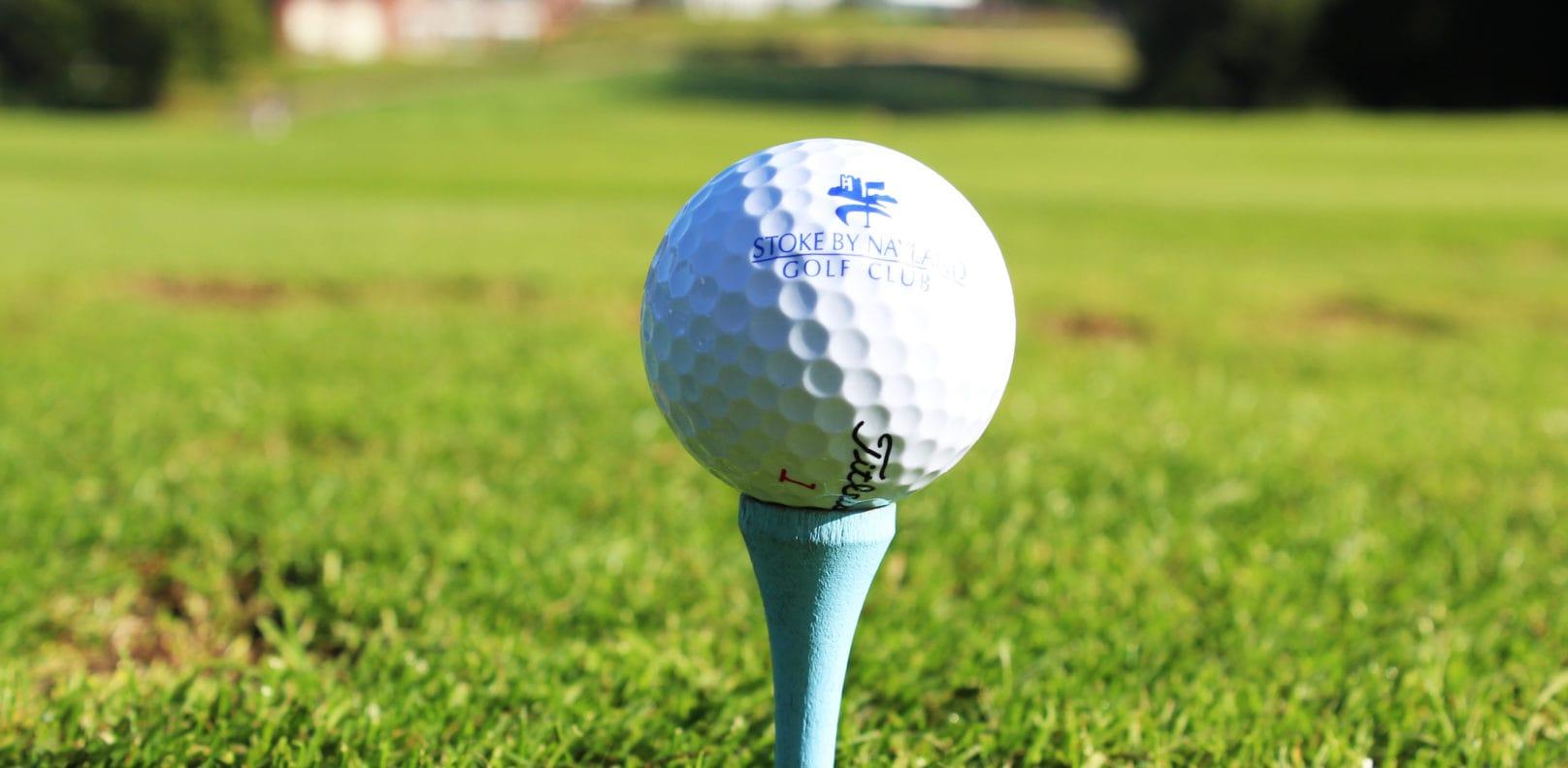 Golf ball - Stoke by Nayland Golf Club Essex