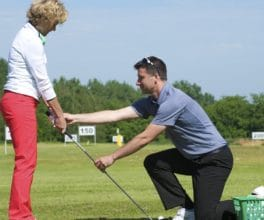 Golf - Ladies golf coaching
