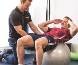 Mike Tuck Physio Treatment