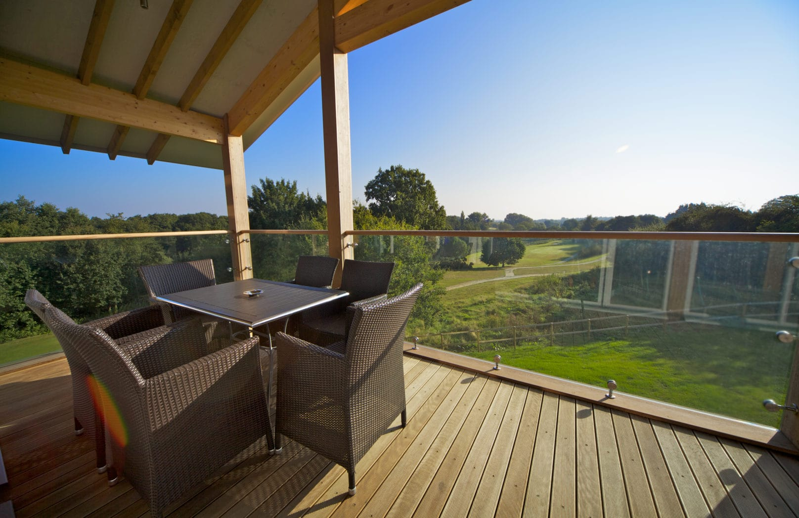 Lodge terrace - Stoke by Nayland
