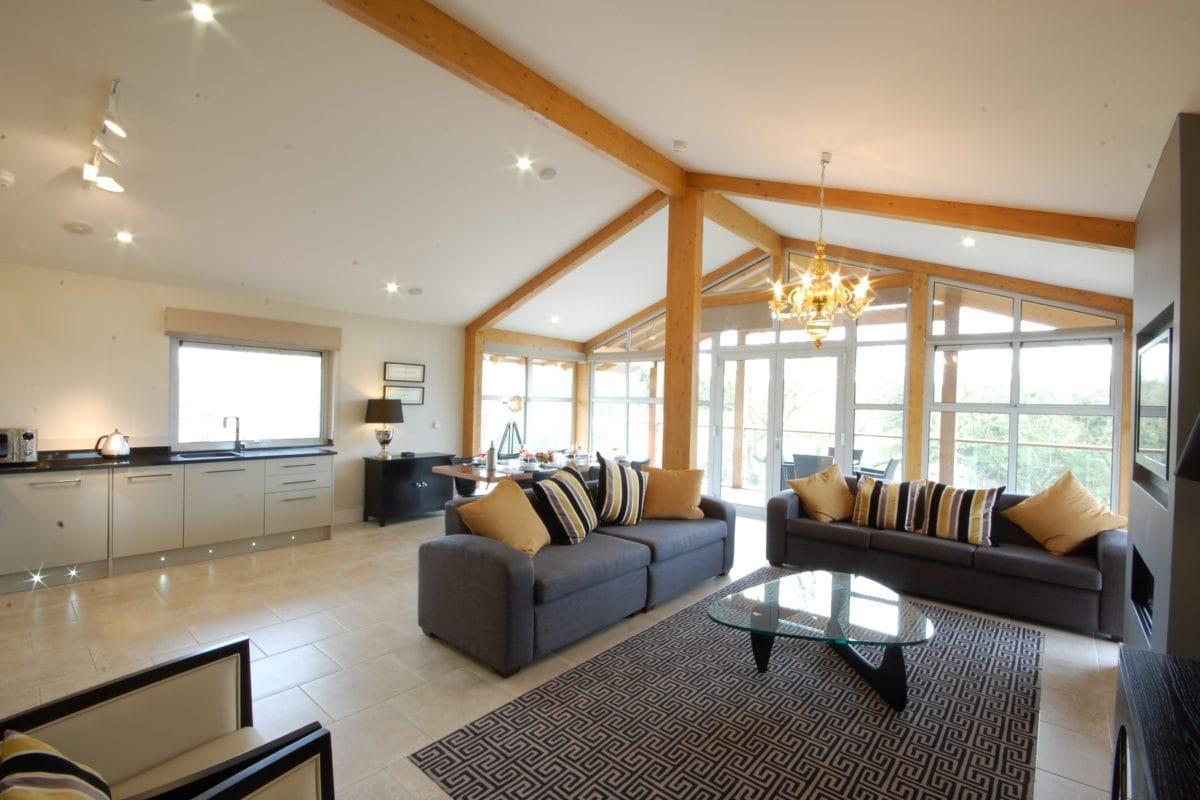 Luxury Lodge Balcony