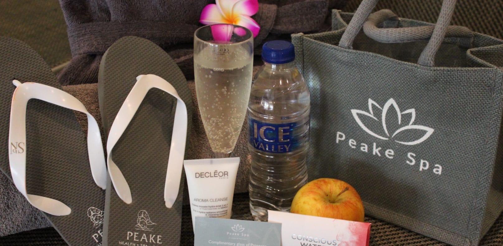 Spa Pass Goody bag