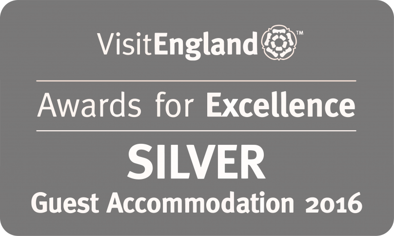 Visit England Guest Accommodation Silver Award
