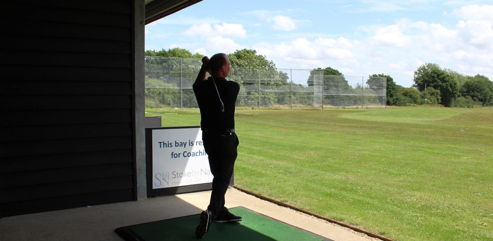 golf - Driving Range Stoke by Nayland Essex