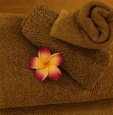 Luxury Spa Towels Square