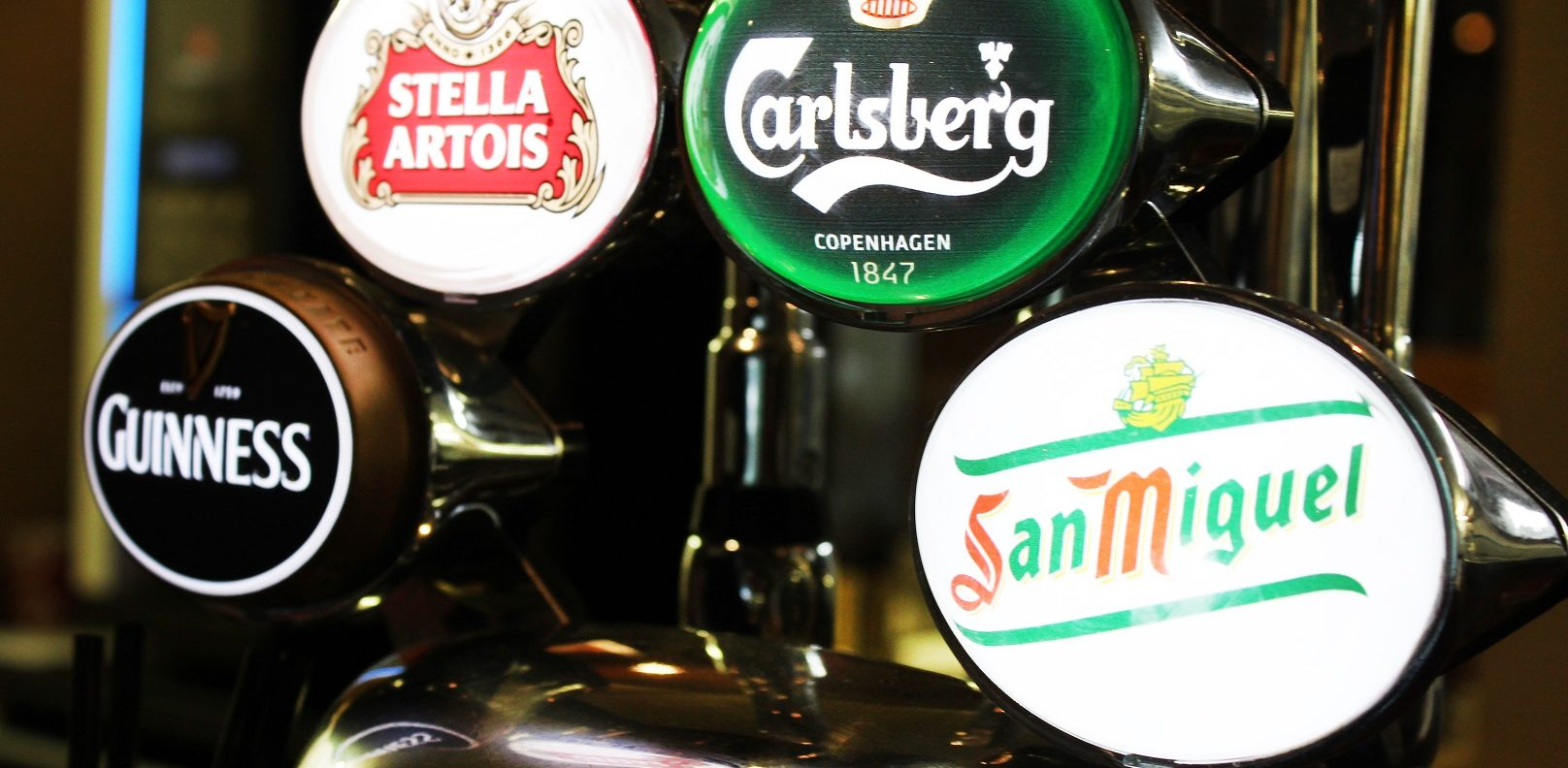 Clubhouse Beers on tap