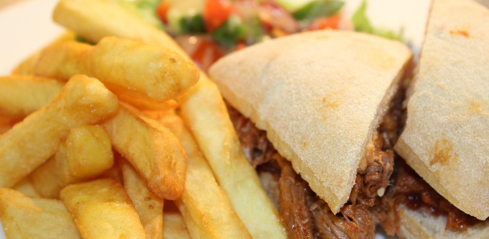 Pulled Pork and Chips Clubhouse
