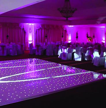 Wedding Starlight Dancefloor