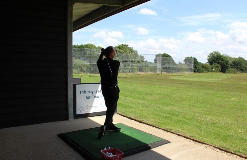 Driving range at Stoke by Nayland