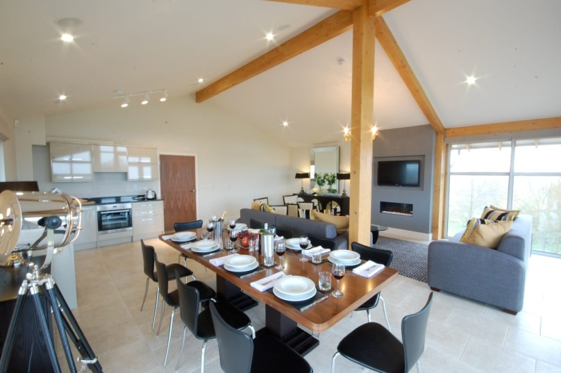 Stoke by Nayland lodge living area