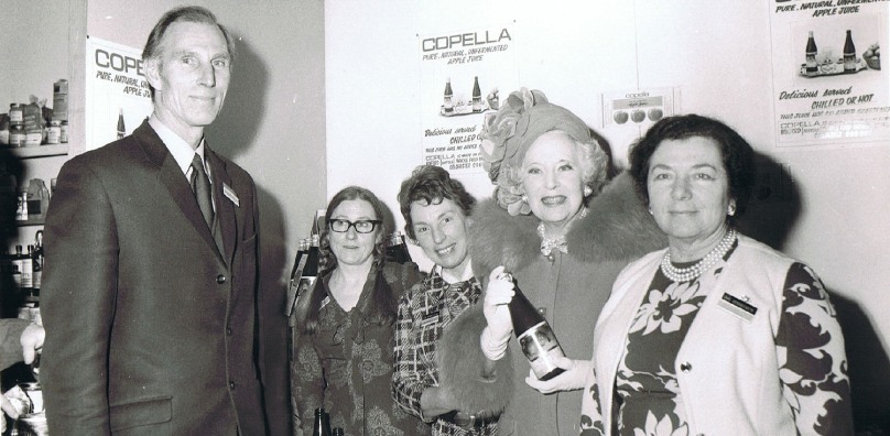 Bill, Devora and Barbara Cartland