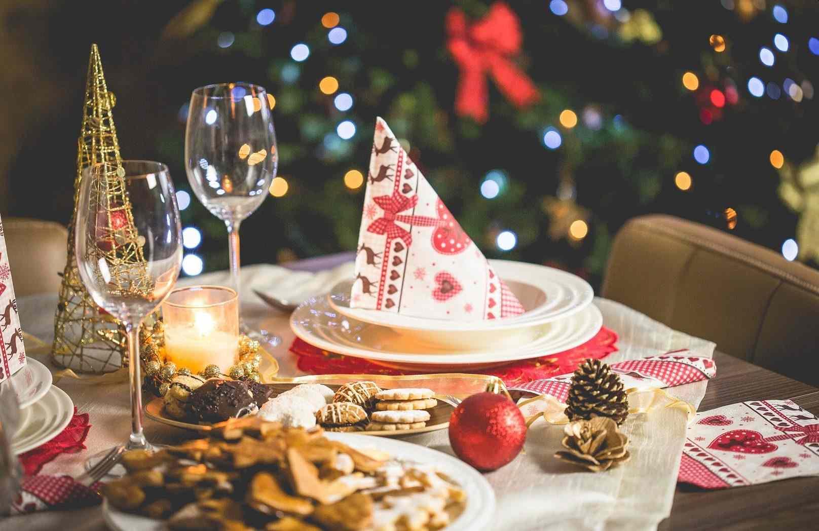 Christmas festive dinner