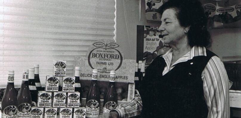 Devora at Boxford Farm 1978