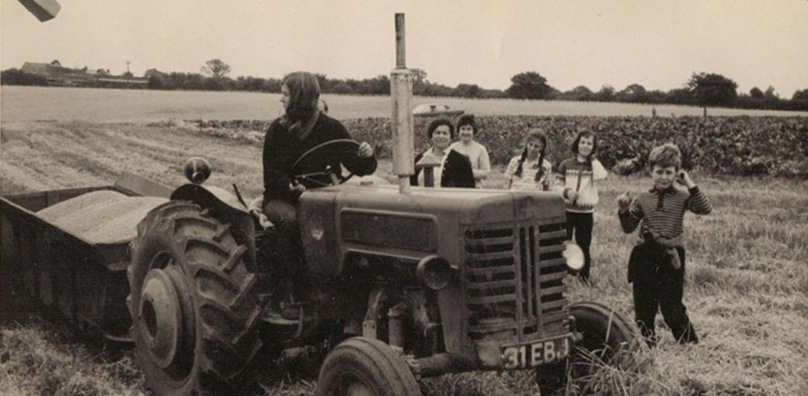 1970s grain collecting