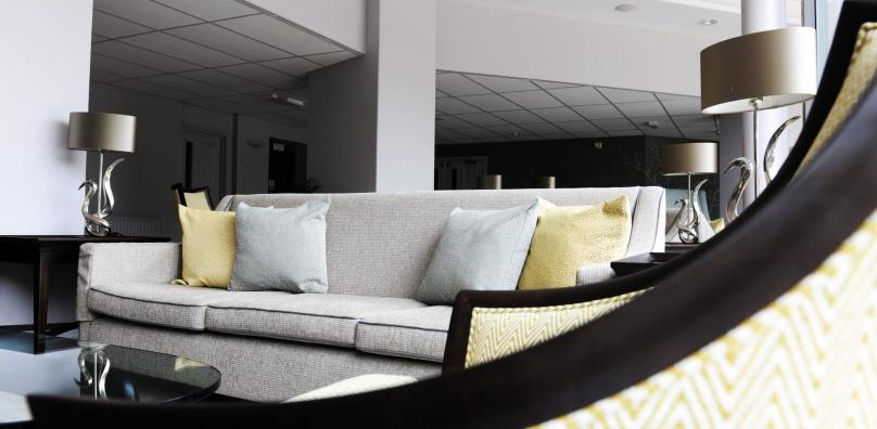 Hotel lobby at Stoke by Nayland