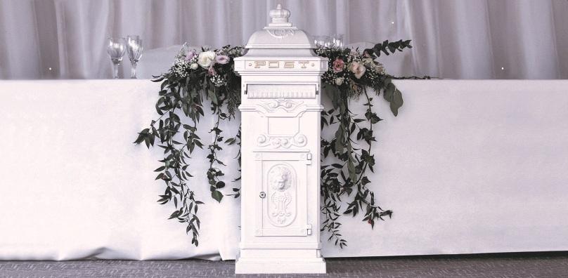 Wedding card postbox - Stoke by Nayland