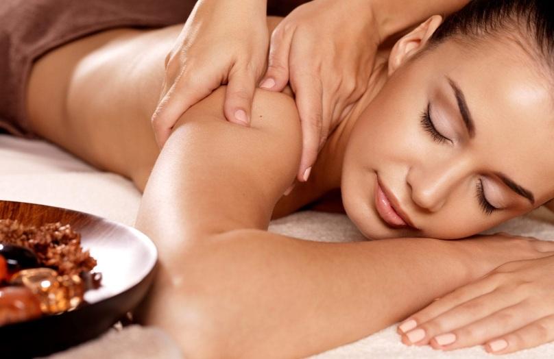 Shoulder massage - Peake Spa