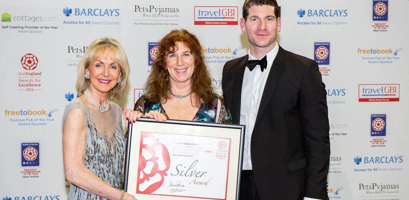 Silver award - Visit England 2016