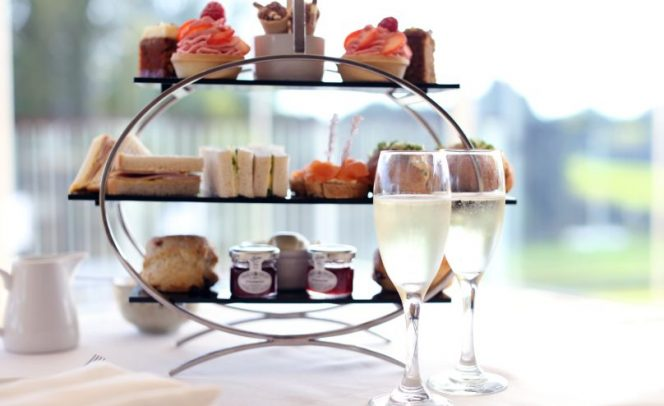 Sparkling afternoon tea - Stoke by Nayland