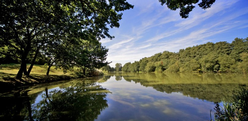 Stoke by Nayland golf course lake course