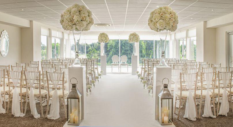 Beautiful ceremony rooms
