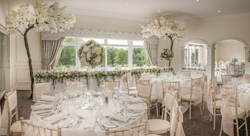 Luxury hotel wedding venue