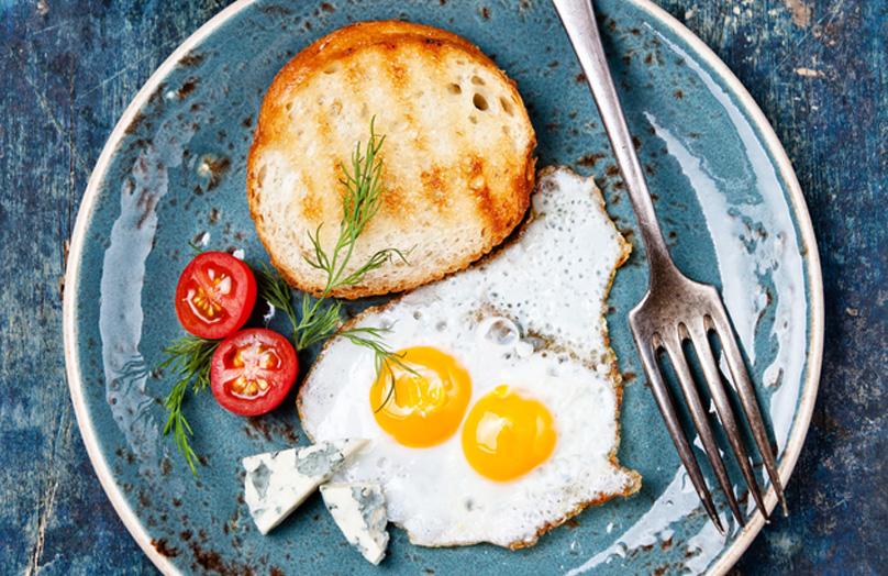 Winter Wonderland full English breakfast