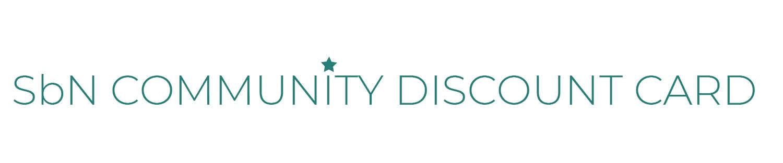 SbN Community Discount Card