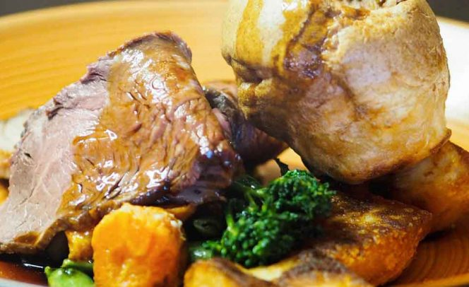 Sunday lunch at Stoke By Nayland