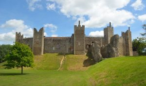 Framlingham,Castle,Suffolk,England.