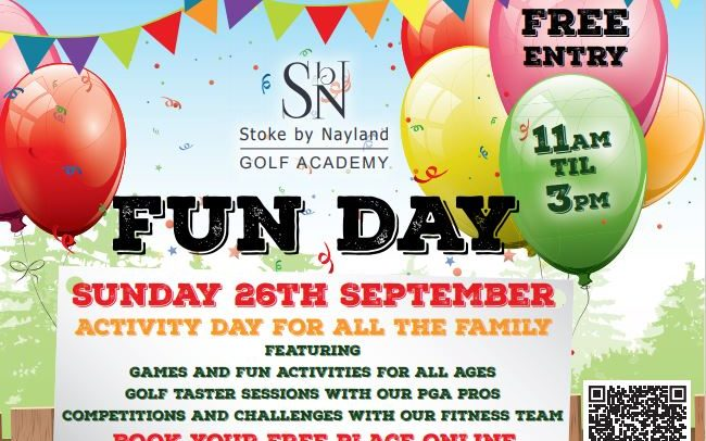 Gof Academy open day poster